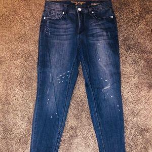 Melissa McCarthy/Seven Splattered Skinny Jeans